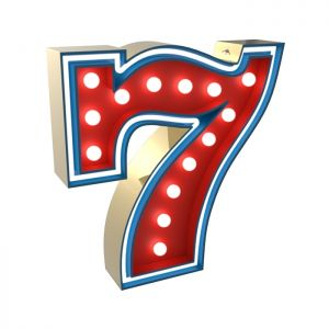NUMBER 7 GRAPHIC