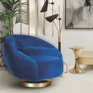 Essential Home Botti Side Table Gold plated