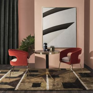 Ellen dining chair dining room ambience