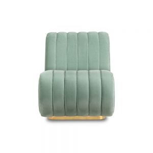 Essential Home Sophia Single Sofa Textile Rickey Aqua Marine