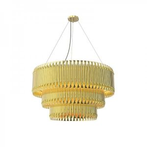 MATHENY 3 ARCS CHANDELIER