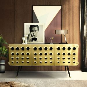 Monocles sideboard side view