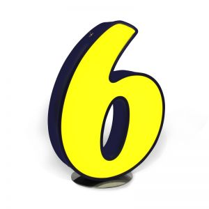 NUMBER 6 GRAPHIC